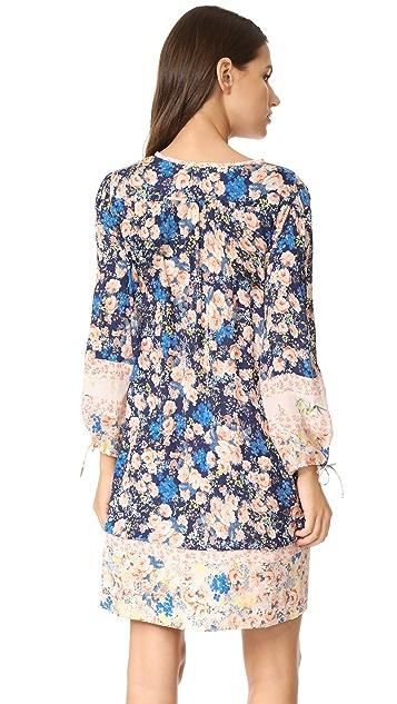 Rebecca Taylor Long Sleeve Gigi Floral Dress