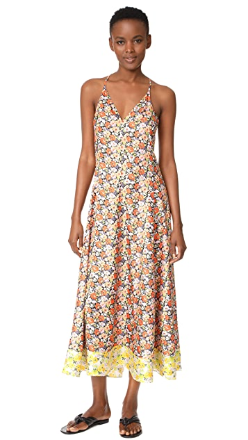 Rebecca Taylor Sleeveless Moonlight Maxi Dress