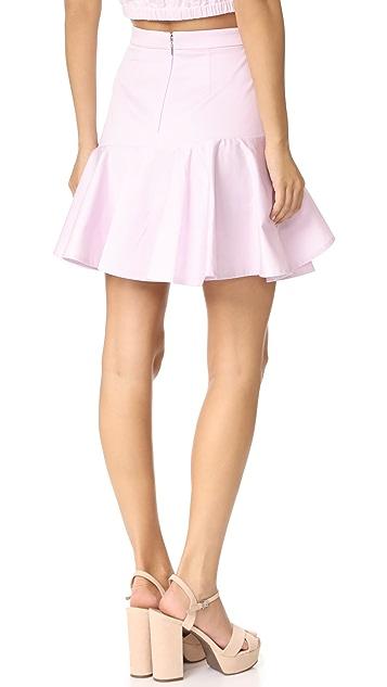 Rebecca Taylor Ruffle Skirt