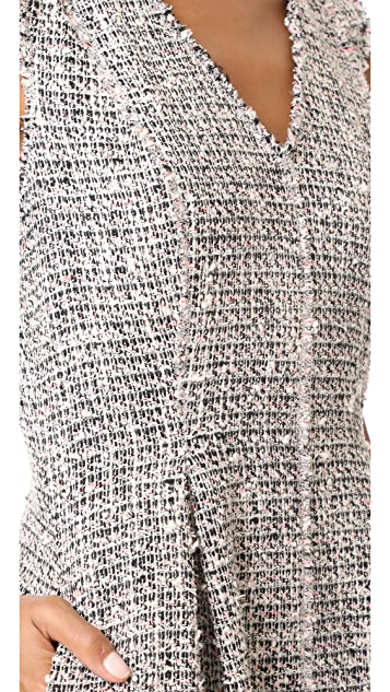 Rebecca Taylor Mixed Tweed Dress