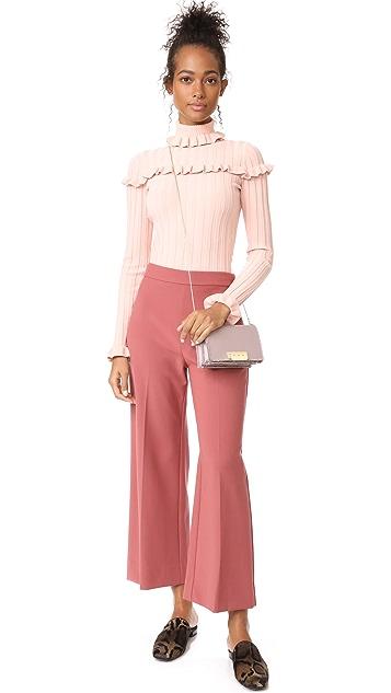 Rebecca Taylor Crop Suit Pants