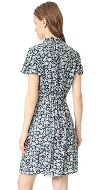 Rebecca Taylor Short Sleeve Capucine Dress