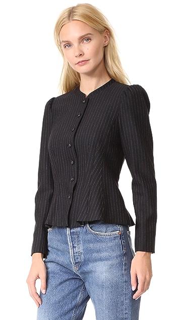 Rebecca Taylor Pinstripe Jacket