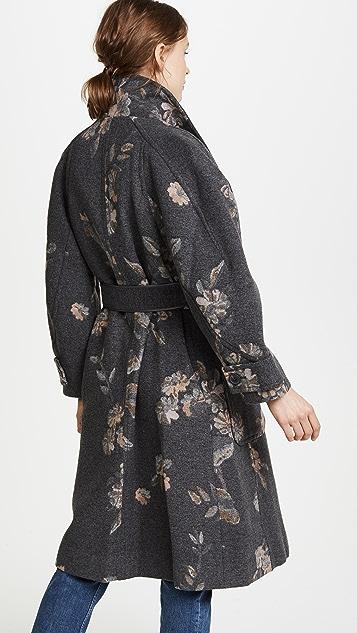 Rebecca Taylor Jacquard Coat