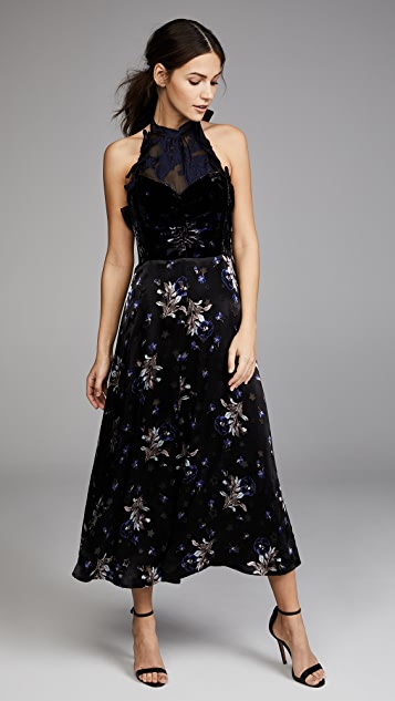 Violet Cocktail Dress