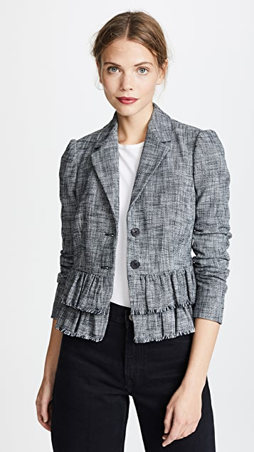 Rebecca Taylor Slub Suiting Jacket