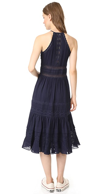 Rebecca Taylor Sleeveless Mid Dress
