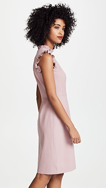 Rebecca Taylor Sleeveless Spring Ruffle Dress