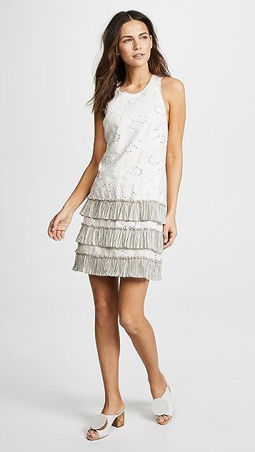 Rebecca Taylor Garden Eyelet Sleeveless Dress
