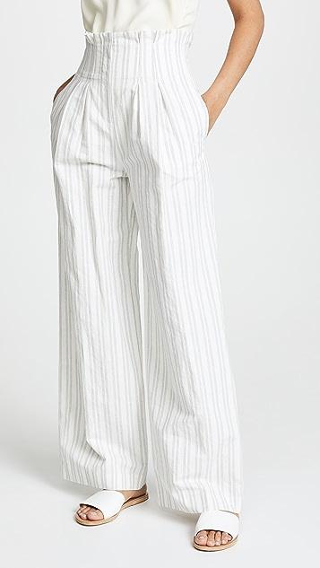 Rebecca Taylor 条纹西装裤