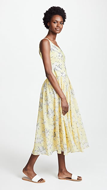 Rebecca Taylor Lemon Jersey Dress