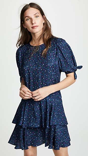Rebecca Taylor Speckled Dot Dress