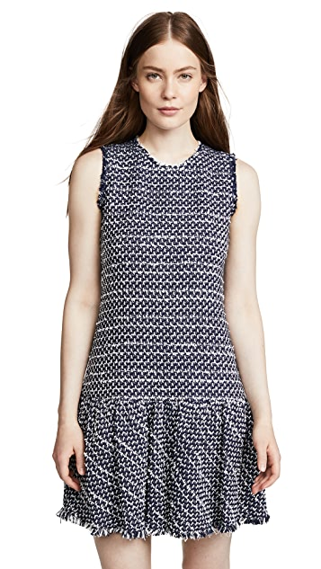 Rebecca Taylor Multi Tweed Dress