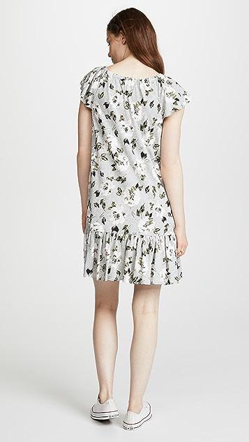 Rebecca Taylor Magnolia Jersey Dress