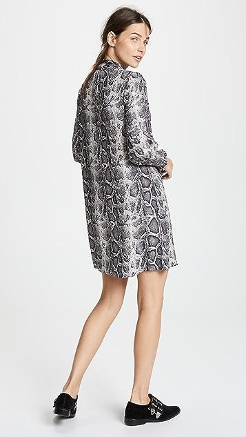Rebecca Taylor Платье Snake с завязками на вырезе