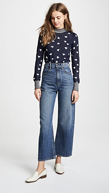 Rebecca Taylor Speckled Sweater