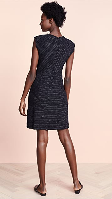 Rebecca Taylor Stretch Tweed Dress