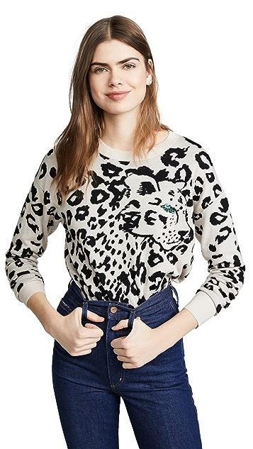 Rebecca Taylor Animal Pullover