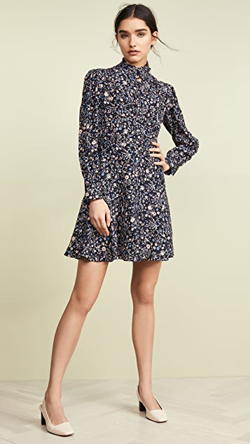 Rebecca Taylor Long Sleeve Vivianna Dress