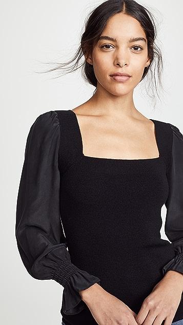 Rebecca Taylor Merino Silk Pullover