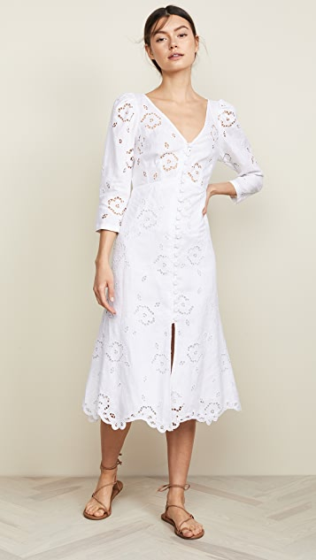 Linen Terri Dress by Rebecca Taylor