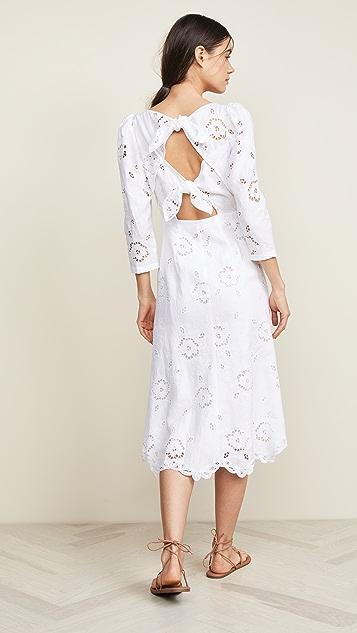 Rebecca Taylor Linen Terri Dress