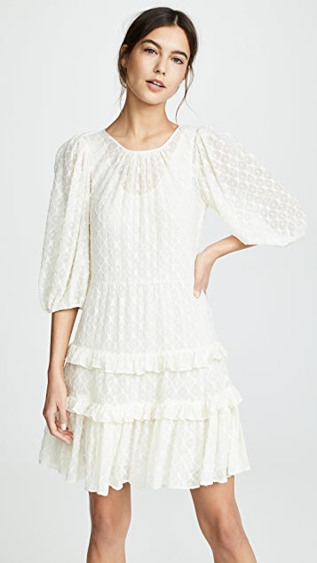Rebecca Taylor Michelle Embroidery Dress