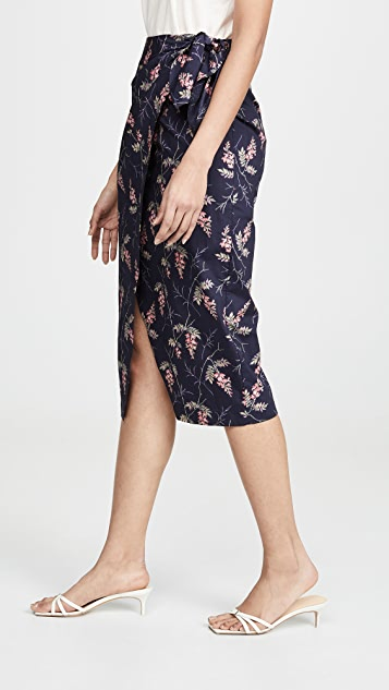 Rebecca Taylor Ivie Wrap Skirt