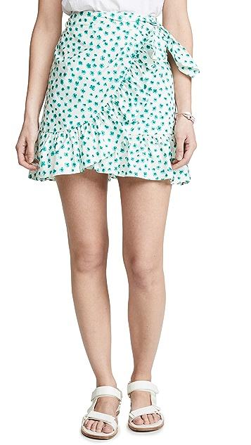 Rebecca Taylor Emerald Daisy Skirt