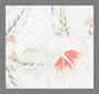 белый снег в комбинации с другими цветами