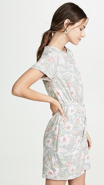 Rebecca Taylor Short Sleeve Kamea Jersey Dress