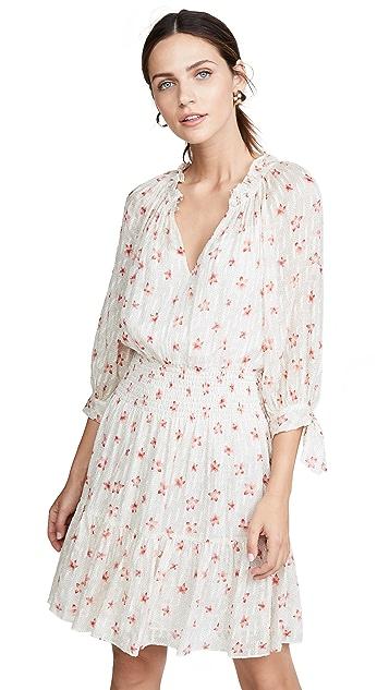 Rebecca Taylor Long Sleeve Maui Clip Dress