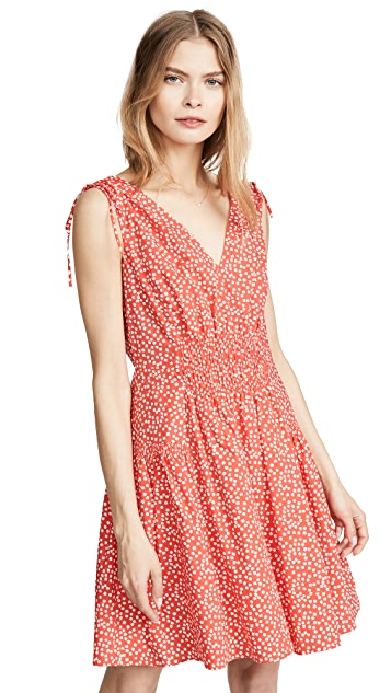 Rebecca Taylor Sleeveless Malia Tie Dress