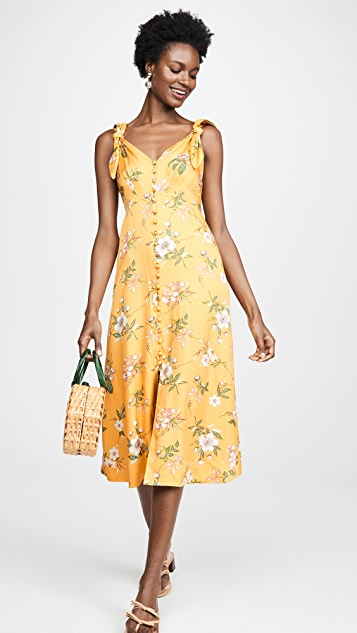 Rebecca Taylor Sleeveless Lita Tie Dress