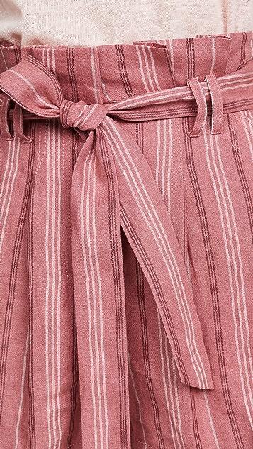 Rebecca Taylor 条纹短裤
