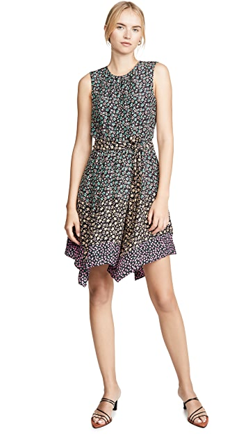 Rebecca Taylor Sleeveless Louisa Floral Dress