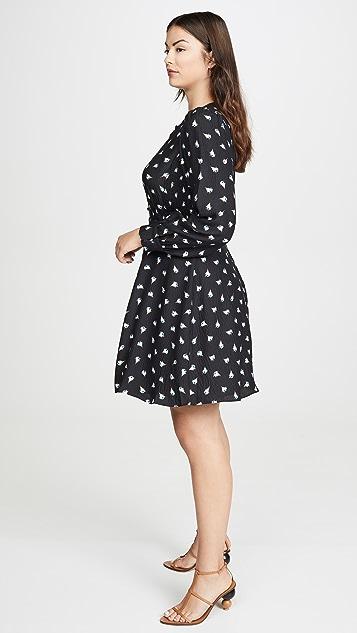 Rebecca Taylor Платье Brigette с длинными рукавами