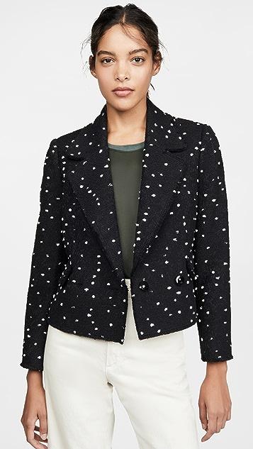 Rebecca Taylor Coats Boucle Tweed Jacket