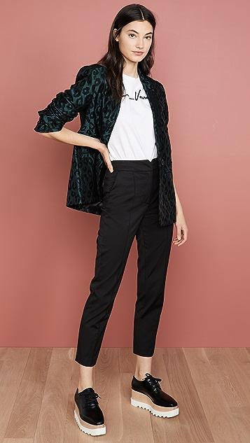 Rebecca Taylor Фигурные брюки Ottoman