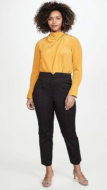Rebecca Taylor Ottoman 凹口长裤