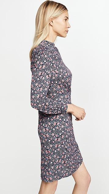 Rebecca Taylor Long Sleeve Twilight Jersey Dress
