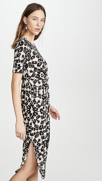 Rebecca Taylor Short Sleeve Kaleidescope Jersey Dress