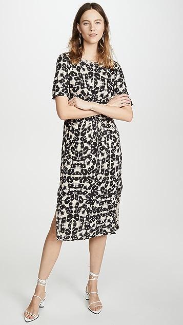 Rebecca Taylor 短袖各式平纹针织连衣裙