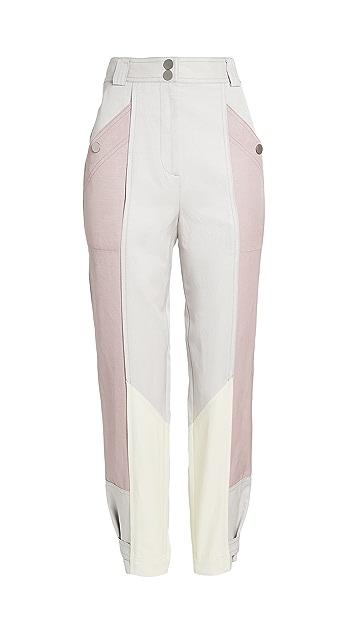 Rebecca Taylor Colorblock Pants