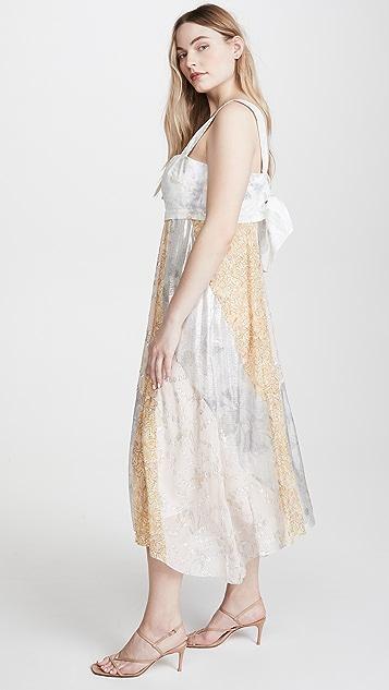 Rebecca Taylor Daffodil 无袖连衣裙