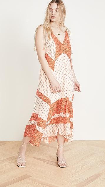 Rebecca Taylor Colorblock Tank Dress