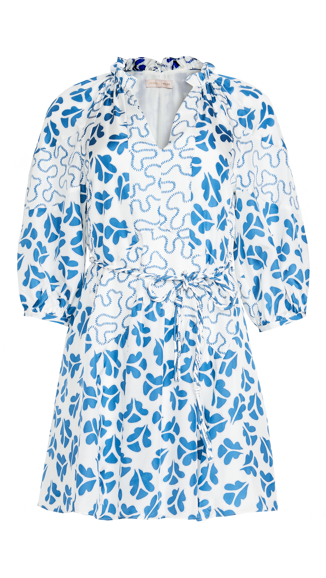 Rebecca Taylor Long Sleeve Perla Petal Dress