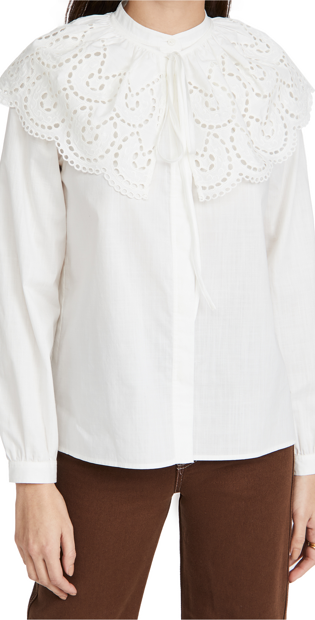 Rebecca Taylor Long Sleeve Valerie Blouse