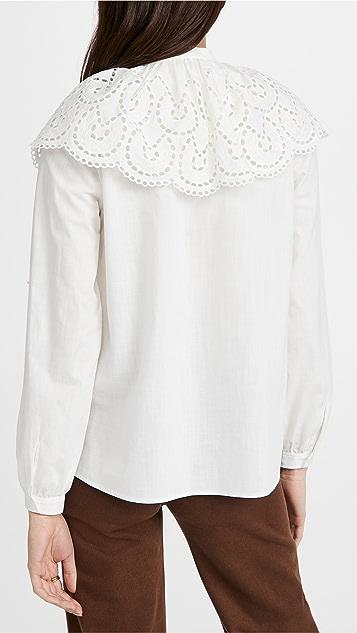 Rebecca Taylor Valerie 长袖女式衬衫