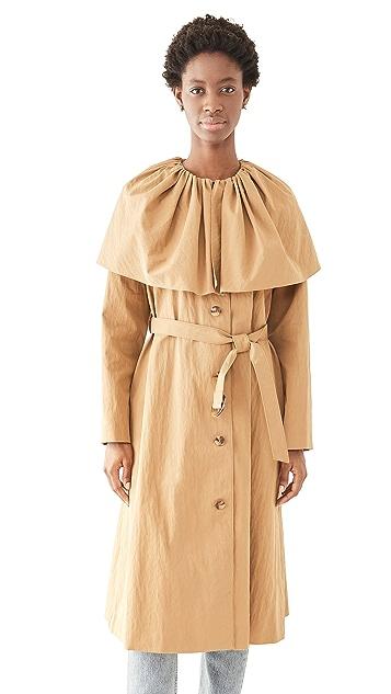 Rebecca Taylor 披肩式棉质风衣